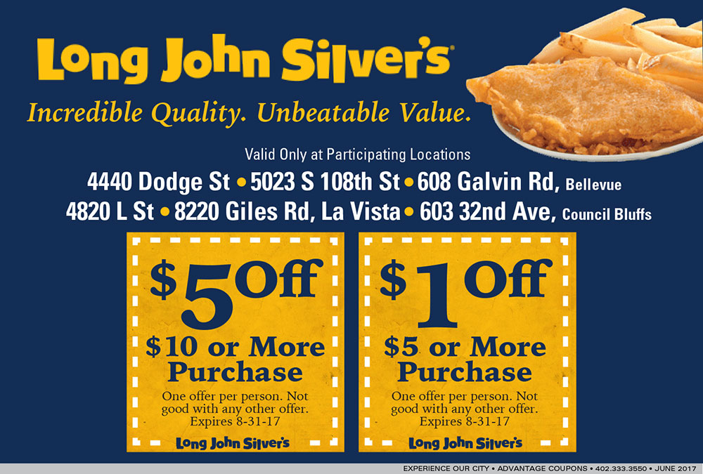photo about Long John Silvers Printable Coupons named Lengthy john silver coupon : Ontario winter season holiday seasons