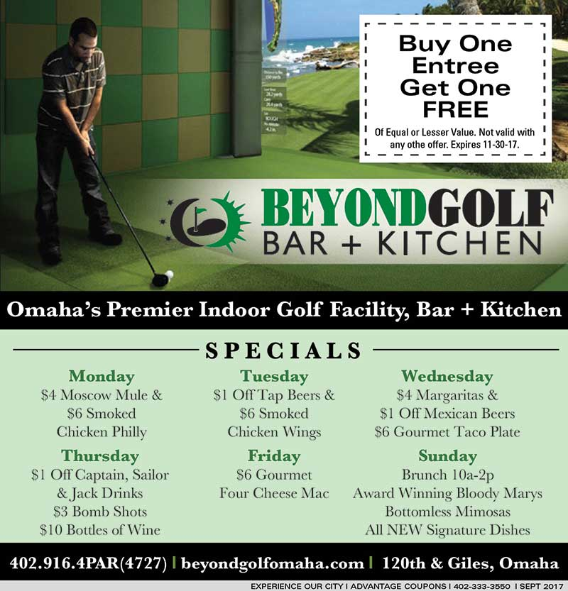 Beyond Golf Bar + Kitchen | Experience Our City